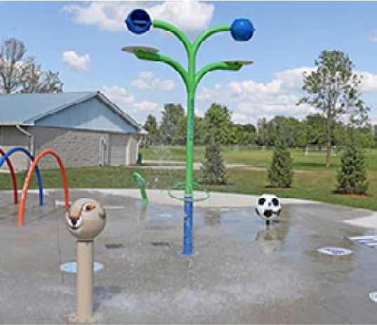 splash pad donor